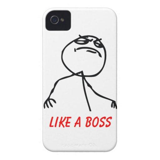 Like a Boss iPhone 4 Case-Mate Case