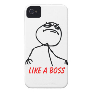 Like a Boss iPhone 4 Case-Mate Cases
