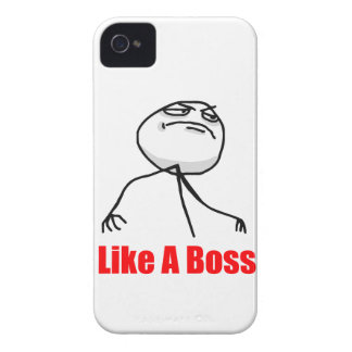 Like a boss iPhone 4 Meme case