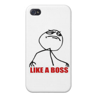 Like A Boss iPhone 4/4S Cases