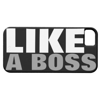 LIKE A BOSS iPhone SE/5/5s CASE