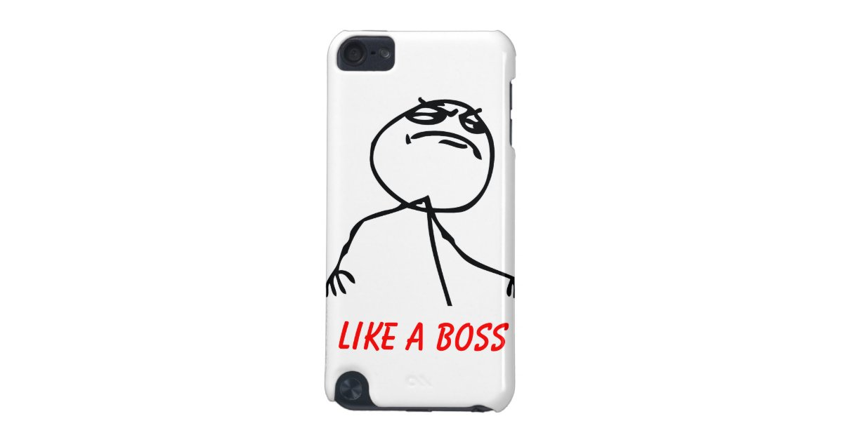 like a boss ipod touch  5th generation  cover