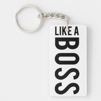 LIKE a BOSS Acrylic Key Chain
