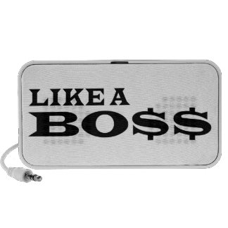 Like A Boss Mini Speakers