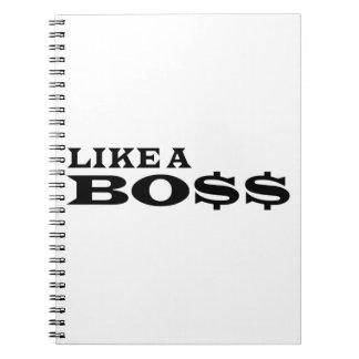 Like A Boss Notebook
