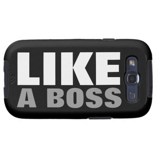 Like A Boss (OFFICIAL) Galaxy SIII Covers