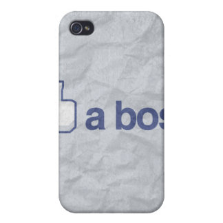 LIKE A BOSS -.png Covers For iPhone 4
