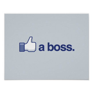 LIKE A BOSS -.png Poster