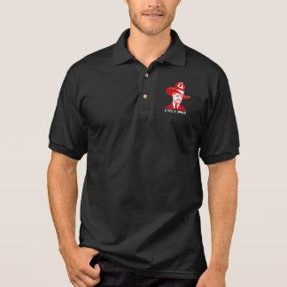 """""""Like A Boss"""" Polo Shirt Black"""