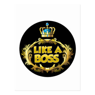 Like a Boss! Postcard