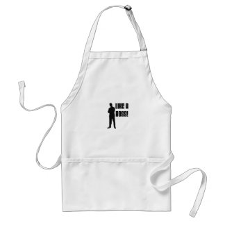LIKE A BOSS PRODUCTS ADULT APRON