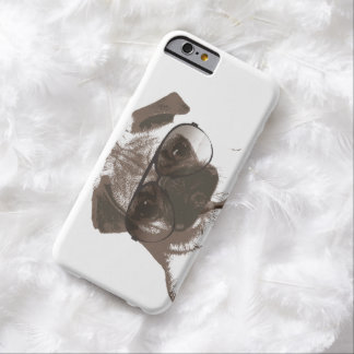Like A Boss Pug with Sunglasses Barely There iPhone 6 Case
