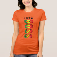 LIKE a BOSS reggae colors T-Shirt