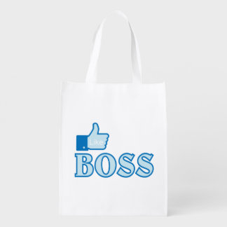 Like a boss reusable grocery bag