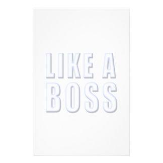 Like a Boss Stationery