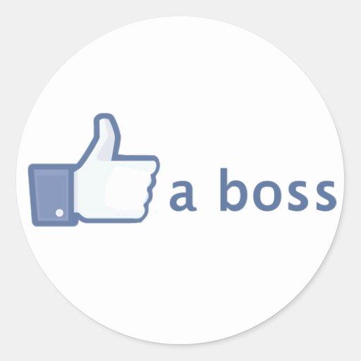 Like A Boss sticker