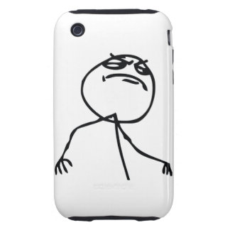 Like a Boss Tough iPhone 3 Cover
