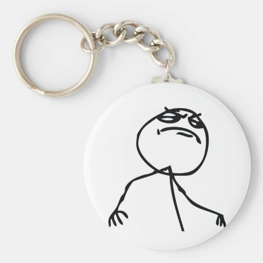 Like a Boss Troll Keychain