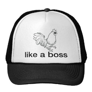 Like a boss trucker hat