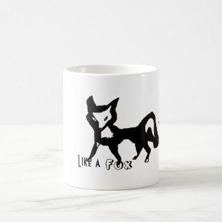Like a Fox Classic White Coffee Mug