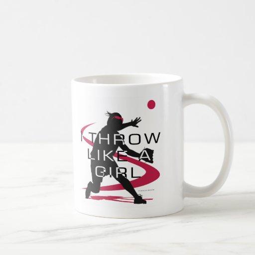Like a girl D Coffee Mug