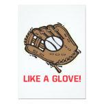 Like A Glove 5x7 Paper Invitation Card