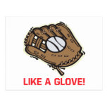 Like A Glove Postcard