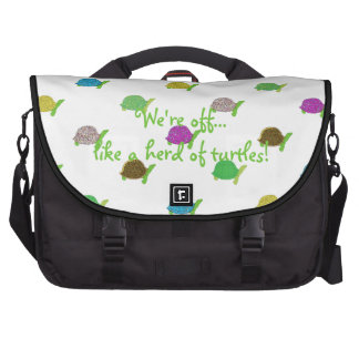 Like A Herd Of Turtles Bag For Laptop