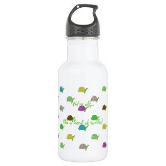 Like A Herd Of Turtles Stainless Steel Water Bottle
