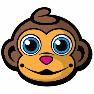 Like A Monkey Keychain! Statuette