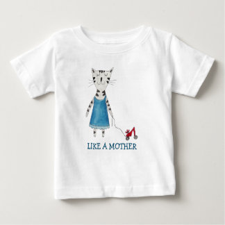 LIKE A MOTHER T-SHIRT FUNNY ROLLER SKATERS