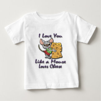 Like a Mouse Loves Cheese violet.png T Shirts