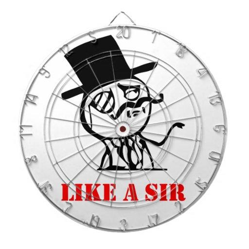 Like a sir - meme dartboards