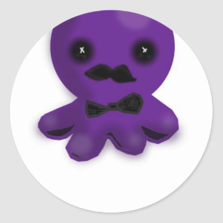 Like A Sir Octopus Classic Round Sticker