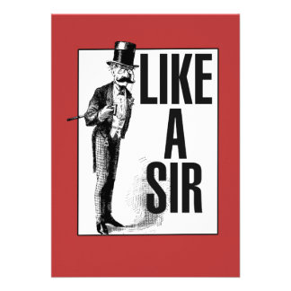 Like a SIR Personalized Invitation