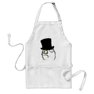 Like a Sir Rage Face Meme Adult Apron