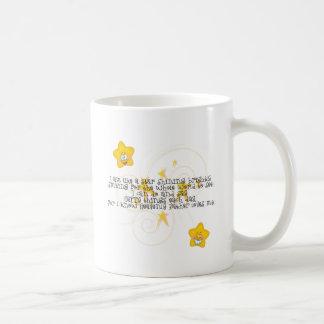 like a star shining brightly coffee mug