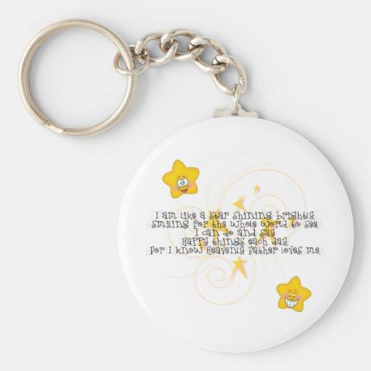like a star shining brightly keychain