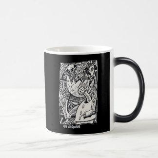 Like an Eggshell, by Brian Benson Magic Mug