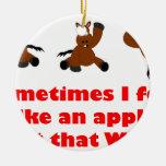 Like apple 2 ornaments