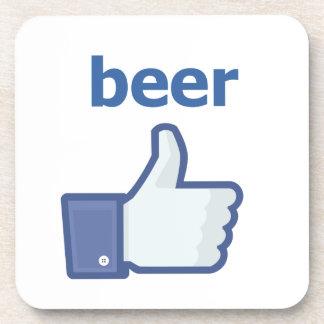 LIKE beer Beverage Coaster