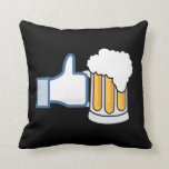 Like Beer - Color.png Pillow