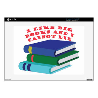 Like Big Books Decals For Laptops