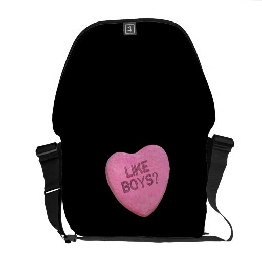 LIKE BOYS CANDY -.png Messenger Bags