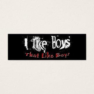 Like Boys Profile Card
