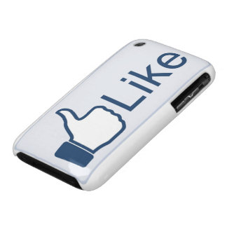 Like Button iPhone 3 Case Mate