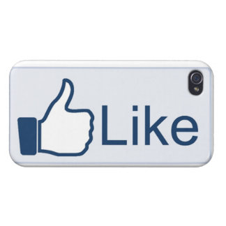 Like Button iPhone 4 Case