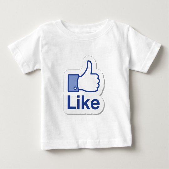 Like Button (Like Me) Baby T-Shirt