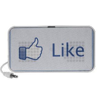 Like Button Speaker