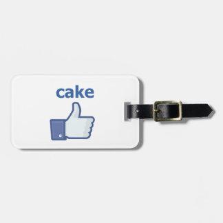 LIKE cake Luggage Tag